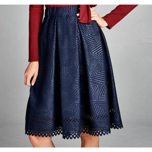 Dresses & Skirts - Trish Laser Cut Skirt